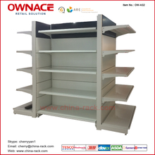 OW-A32 Colorful Supermarket&Store Display Shelf/Metal Gondola Rack System