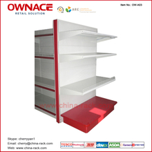 OW-A17 Heavy Duty Shelf Supermarket&Store Display Equipment/Metal Gondola Storage Shelf&Rack System