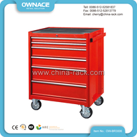 OW-BR3006 Stable Steel Garage Rolling Tool Cabinet with Side Handle